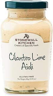 product image for Stonewall Kitchen Cilantro Lime Aioli, 10.25 oz