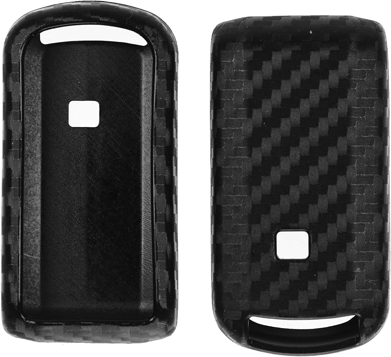Carbon Soft Case Schutz Hülle Auto Keyless Schlüssel Für Mitsubishi