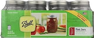 product image for Ball Pint Jar, Regular Mouth, Set of 12, (16 oz)