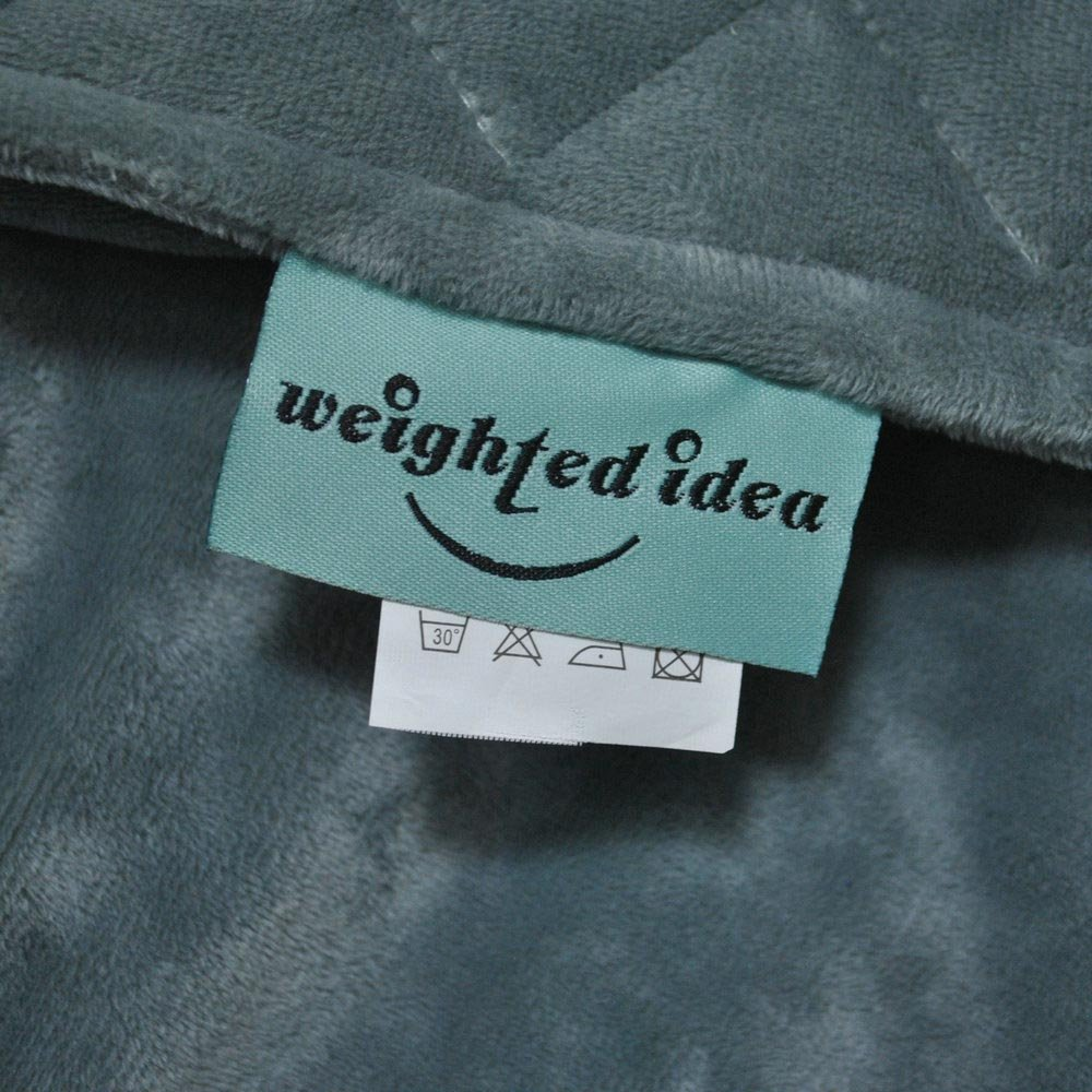Removable Duvet Cover for Weighted Blanket by Weighted Idea - Rhombus