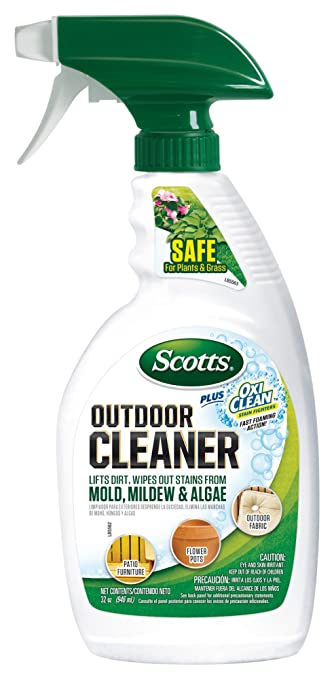 Amazon Scotts Outdoor Cleaner Plus OxiClean 32 oz RTU Garden