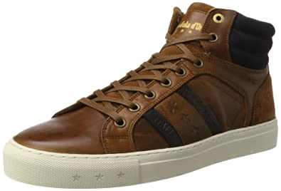 Pantofola d`Oro FREDERICO UOMO MID - High-top trainers - tortoise shell I8oCf9pV