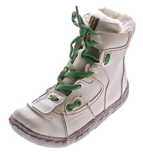 Mujer Piel Invierno Botines TMA Plisadas Tobillo Guantes Negro Azul Verde Blanco Rojo Tobillo en Used Look Botas: Amazon.es: Zapatos y complementos