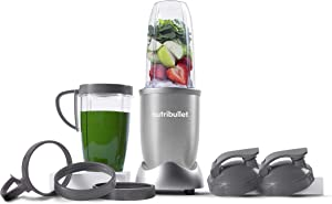 NutriBullet NB9-1301S Pro 13 Pcs Silver, 900W, (Renewed)