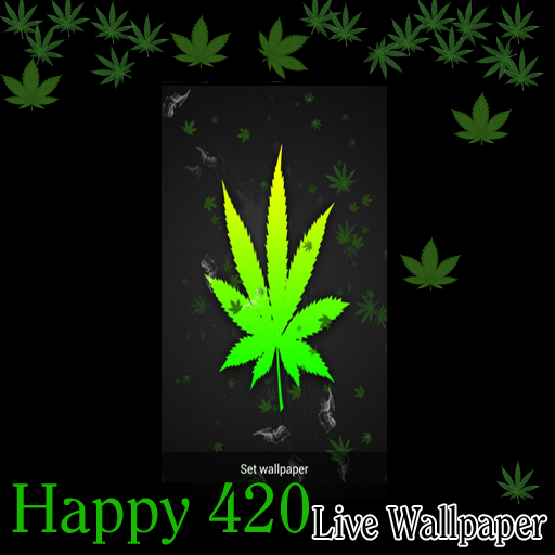 Live Wallpaper - Celebrate Happy 420 Pot Marijuana Weed:Amazon:Mobile Apps