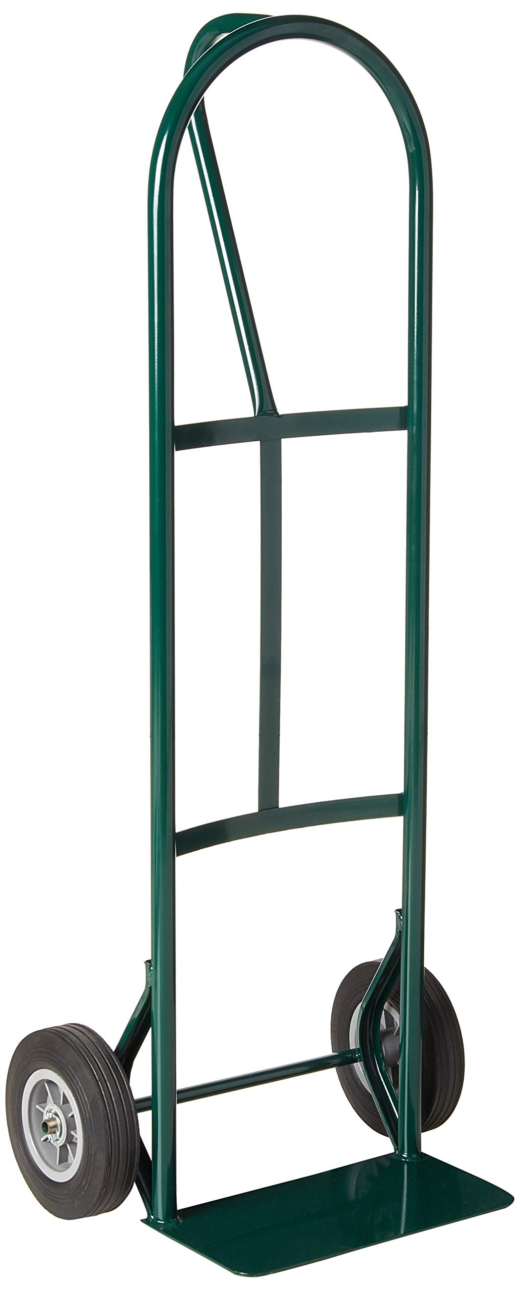 Harper Trucks BKB85 600 lb P-Handle with Solid Rubber Wheels Hand Truck, Green by Harper Trucks