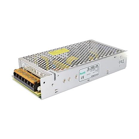 Amazon.com: Fuente de alimentación 100 W 24 V 4.5 A de ...