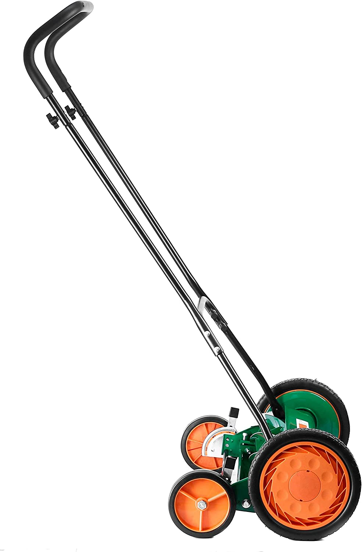 20-Inch Scotts Outdoor Power Tools 2000-20 Classic Push Reel Lawn Mower Renewed