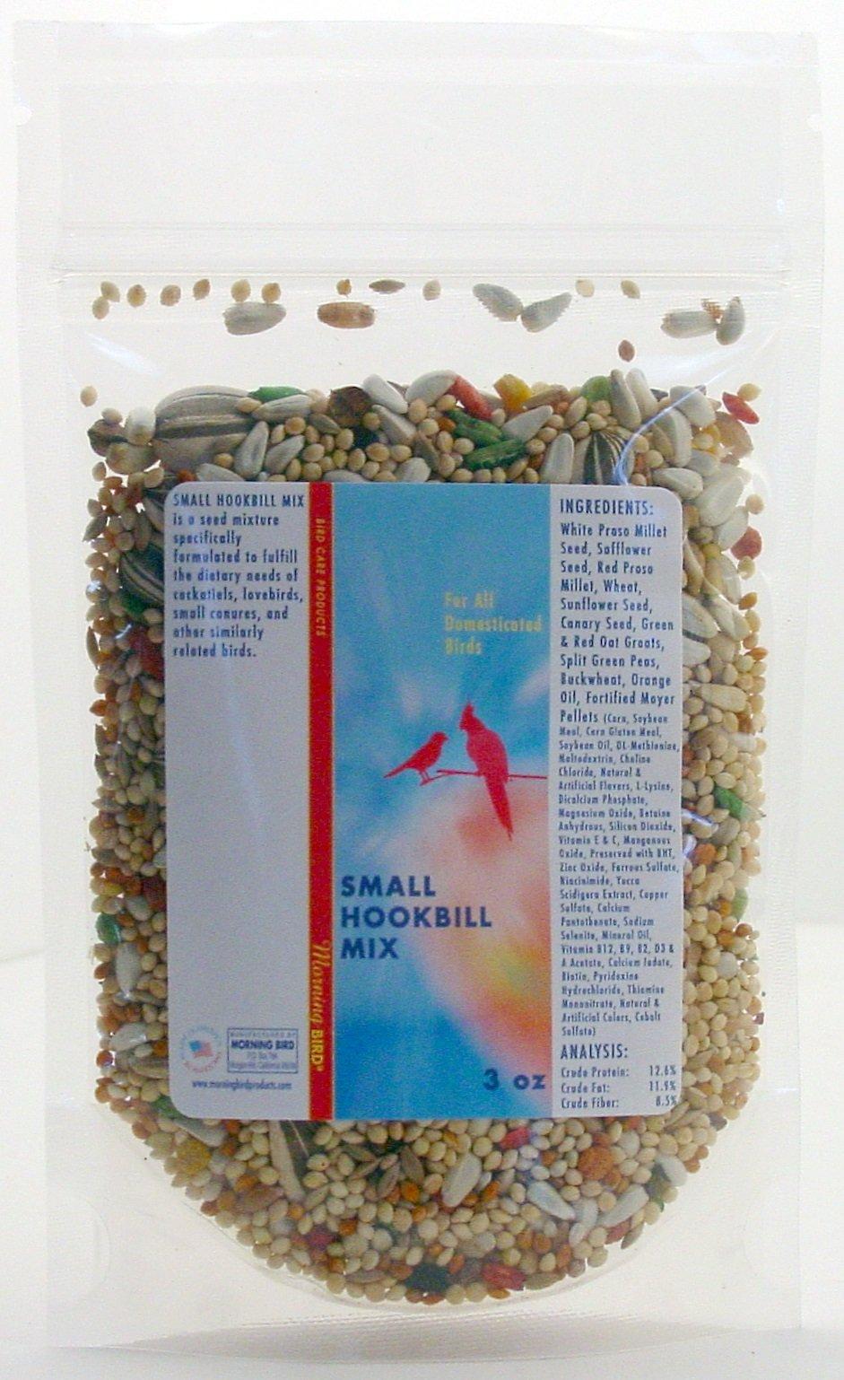 Morning Bird Small Hookbill Mix (3 oz)