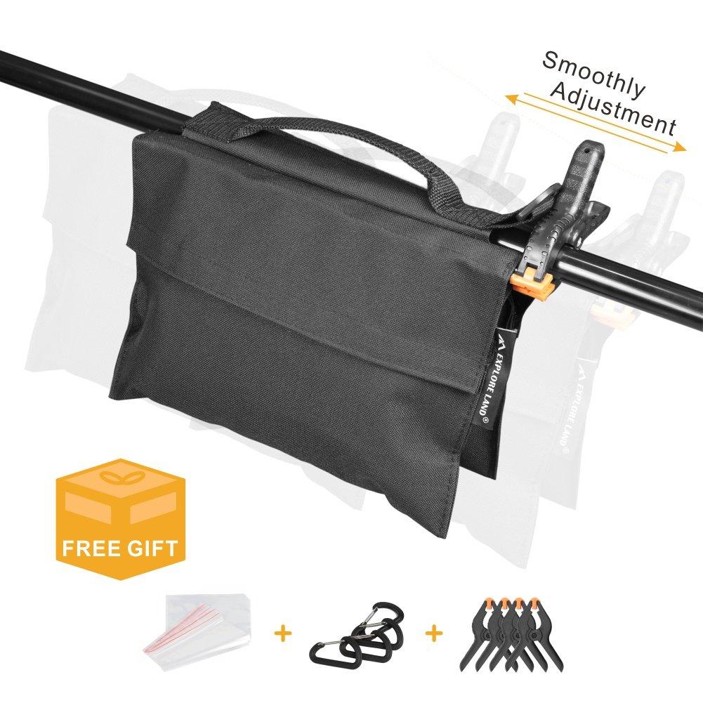 Fotografia Sand bag Heavy Duty sella borsa di peso per foto video studio supporto 4/pezzi
