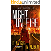 Night on Fire: A Gripping Serial Killer Thriller (Violet Darger Book 6) book cover