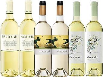 Pack Vino Blanco Verdejo | Vinos DO Rueda | Vinos Verdejo | 2 bot ...