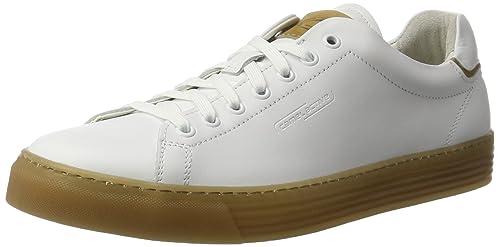Camel Active Bowl 19, Zapatillas para Hombre, Blanco (White/Off-White 01), 42 EU