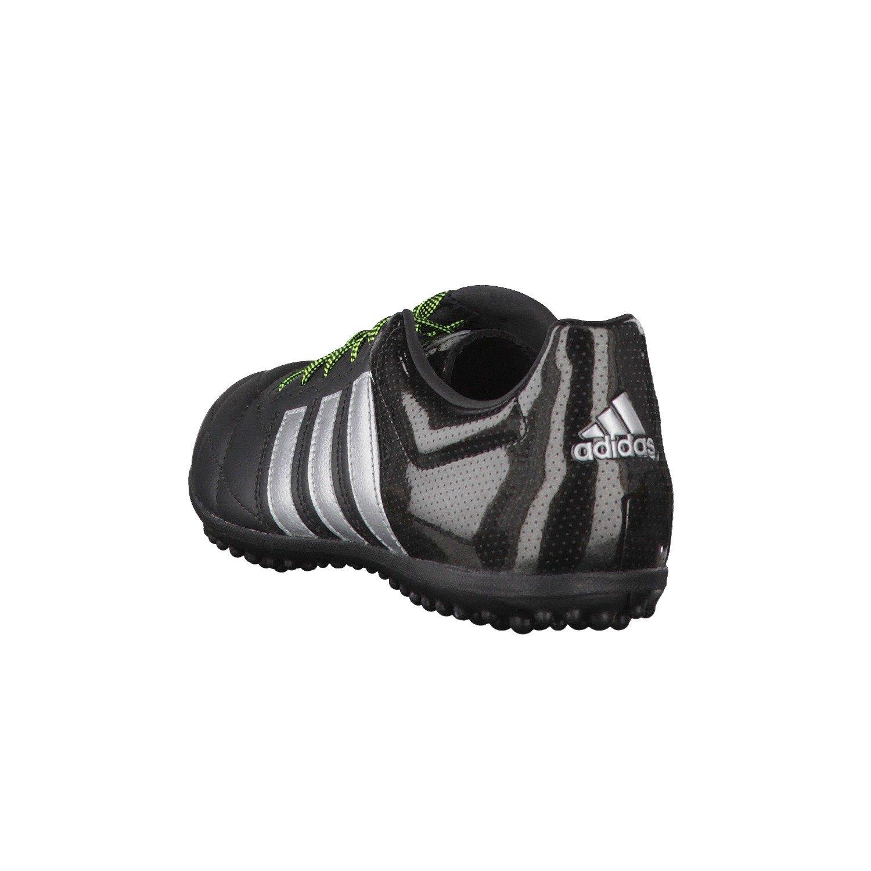 promo code 1f831 7c78e adidas Ace 15.3 TF Leather - Botas para Hombre, Color NegroPlataAmarillo,  Talla 44 23 Amazon.es Zapatos y complementos