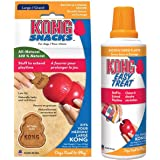 KONG Easy Treat & Snack Combo, Bacon & Cheese - Large