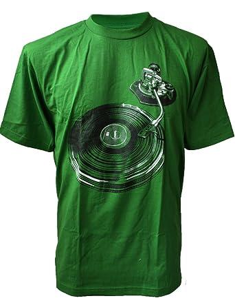 SODAtees - Camiseta de Vinilo para Hombre, diseño de Reproductor ...