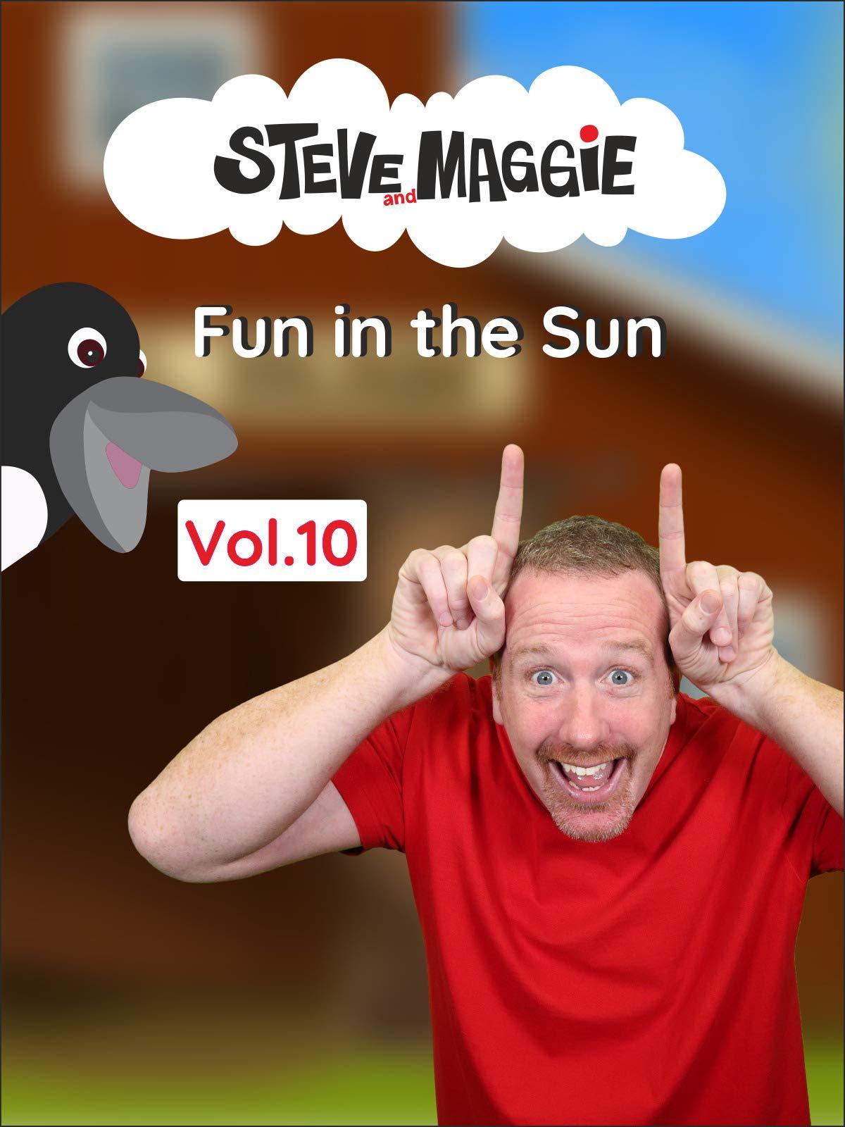 Steve and Maggie - Fun in the Sun (Vol. 10) on Amazon Prime Video UK