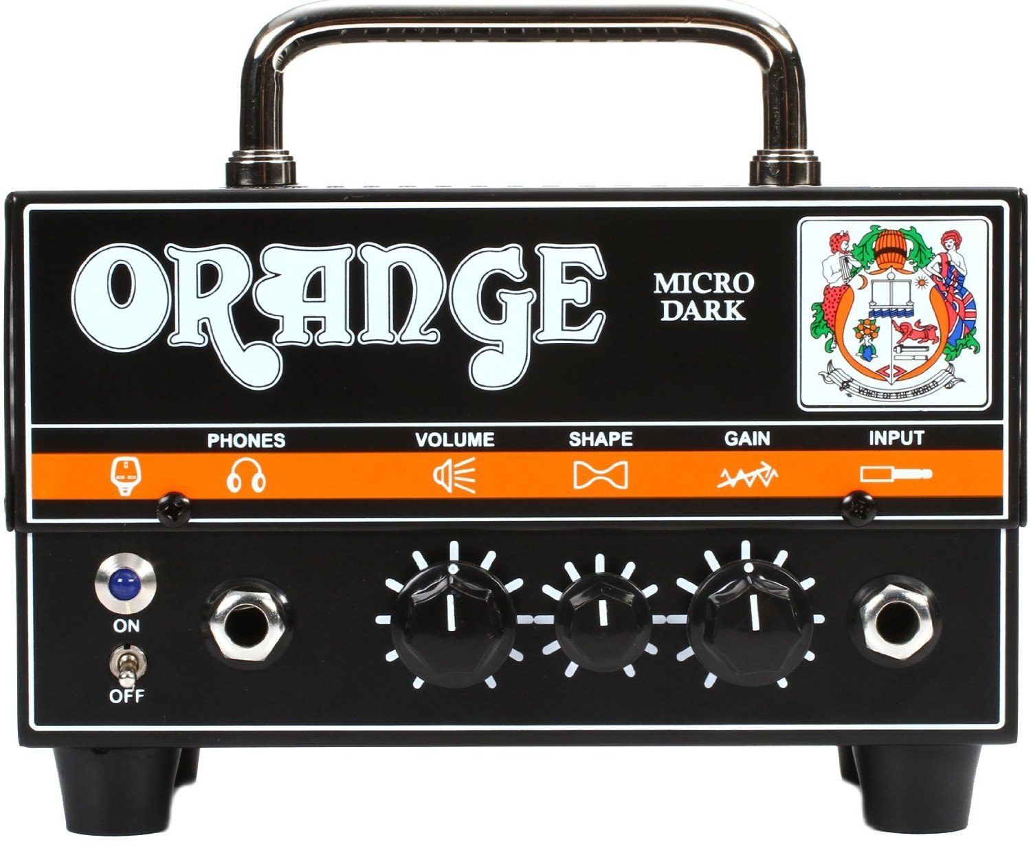 4. Orange Micro Dark Terror 20 Watt Tube Preamp