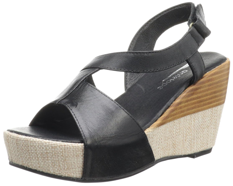 Antelope Women's 809 Slingback Sandal B00AJCOI2K 38 EU/7.5-8 M US|Black