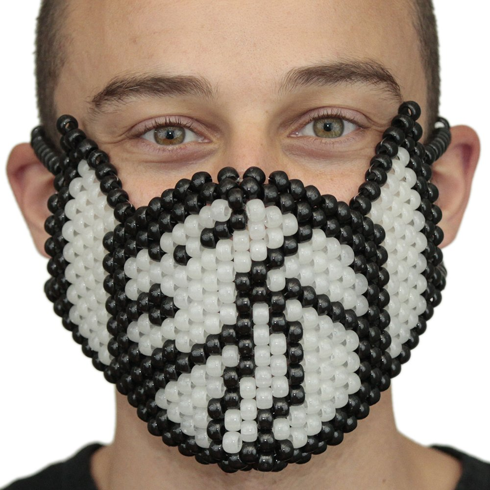 Amazon.com: Kandi Gear - Rave Masks, Glow In The Dark Kandi Masks, Rave Gear and Rave Outfits (Glow012): Clothing