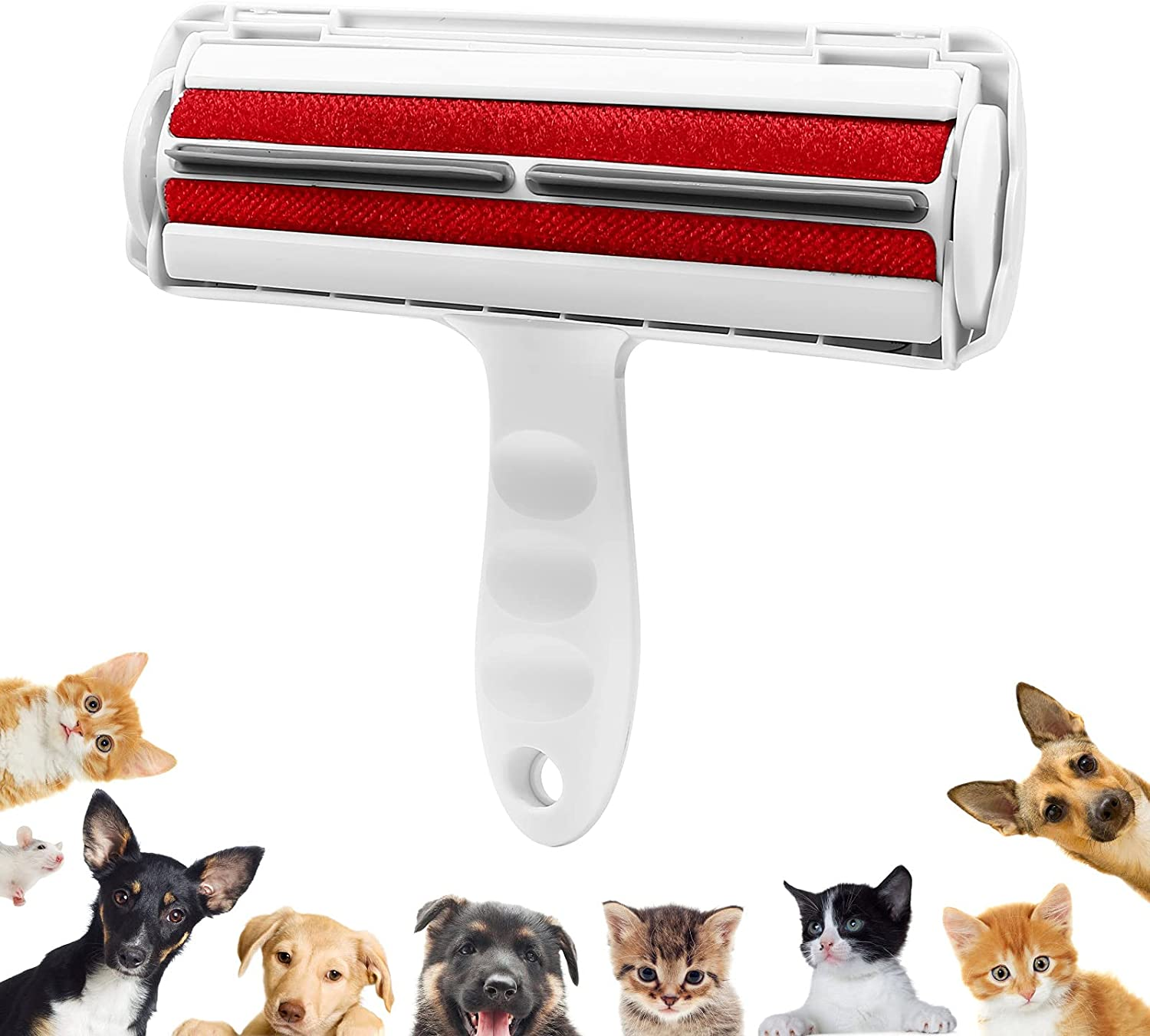 Lecieter Pet Hair Remover Roller,Reusable Dog & Cat Hair Remover Roller with Self-Cleaning, Perfect Hair Remover for Furniture, Couch, Carpet, Car Seat