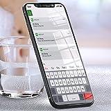 Vetro Temperato iPhone X, Vitutech Pellicola Protettiva iPhone X Vetro 9H Durezza Resistente Graffi Trasparente Pellicola per iPhone X Protezione Schermo - 2 Pezzi