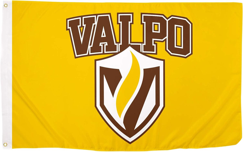 Desert Cactus Valparaiso University VALPO Crusaders NCAA 100/% Polyester Indoor Outdoor 3 feet x 5 feet Flag