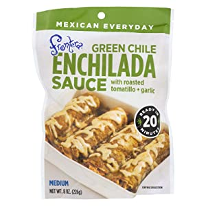 Frontera Foods Green Chile Enchilada Sauce - Green Chile - Case of 6-8 oz.