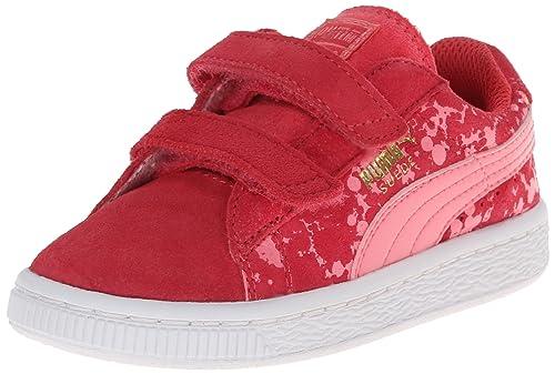 0bd172efab20 PUMA Suede Speckle V Kids Sneaker (Infant Toddler Little Kid)