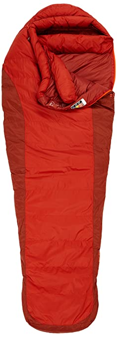 Marmot Never Summer 0 Degree Down Sleeping Bag Dark Rust Mahogany Regular