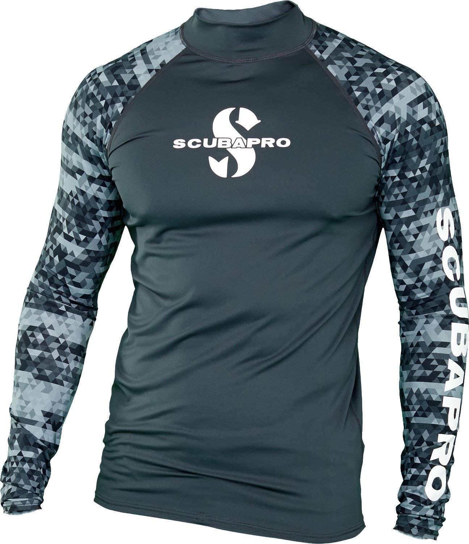Scubapro Men's UPF 50 Long Sleeve Rash Guard by Scubapro