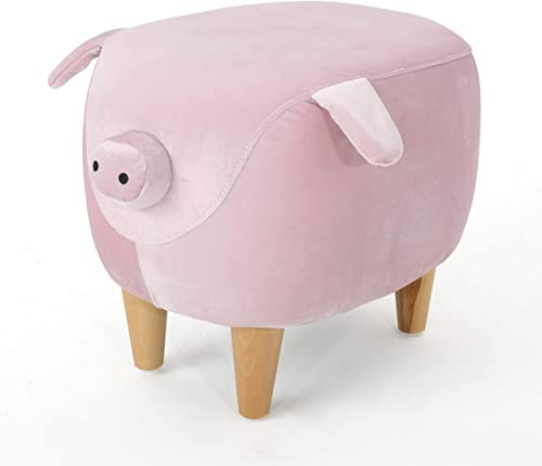 Keiki Burton Velvet Pig Ottoman