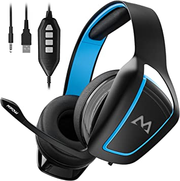 Mpow Auriculares para Juegos, Sonido Envolvente 7.1 Virtual con ...