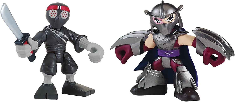 Teenage Mutant Ninja Turtles Pre-Cool Half Shell Heroes Shredder and Foot Solider Figures