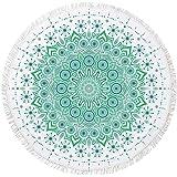 SIRCLE Geometric Beach Round Towels (Geometric Circle)