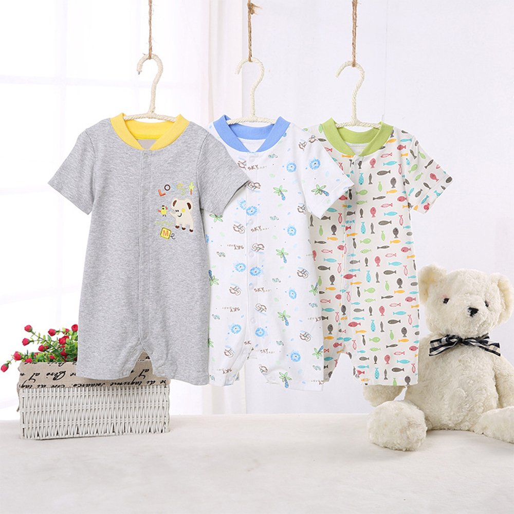 3X Infant Baby Kids Cotton Jumpsuit Outfits ZEVONDA Baby Romper