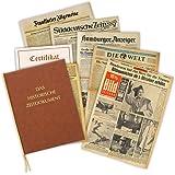 Geburtstagszeitung von 1937 - die historische Zeitung aus dem Jahr 1937 im Original