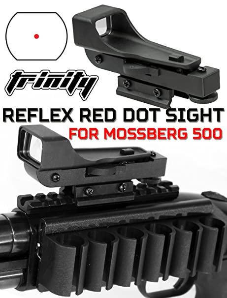 Amazon com : Trinity Mossberg 500 Tactical Red Dot Sight