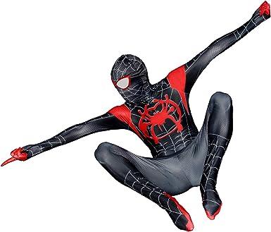 Spiderman Into the Spider Verse Miles Morales Hoodie Adult Kid/'s Jacket Coat