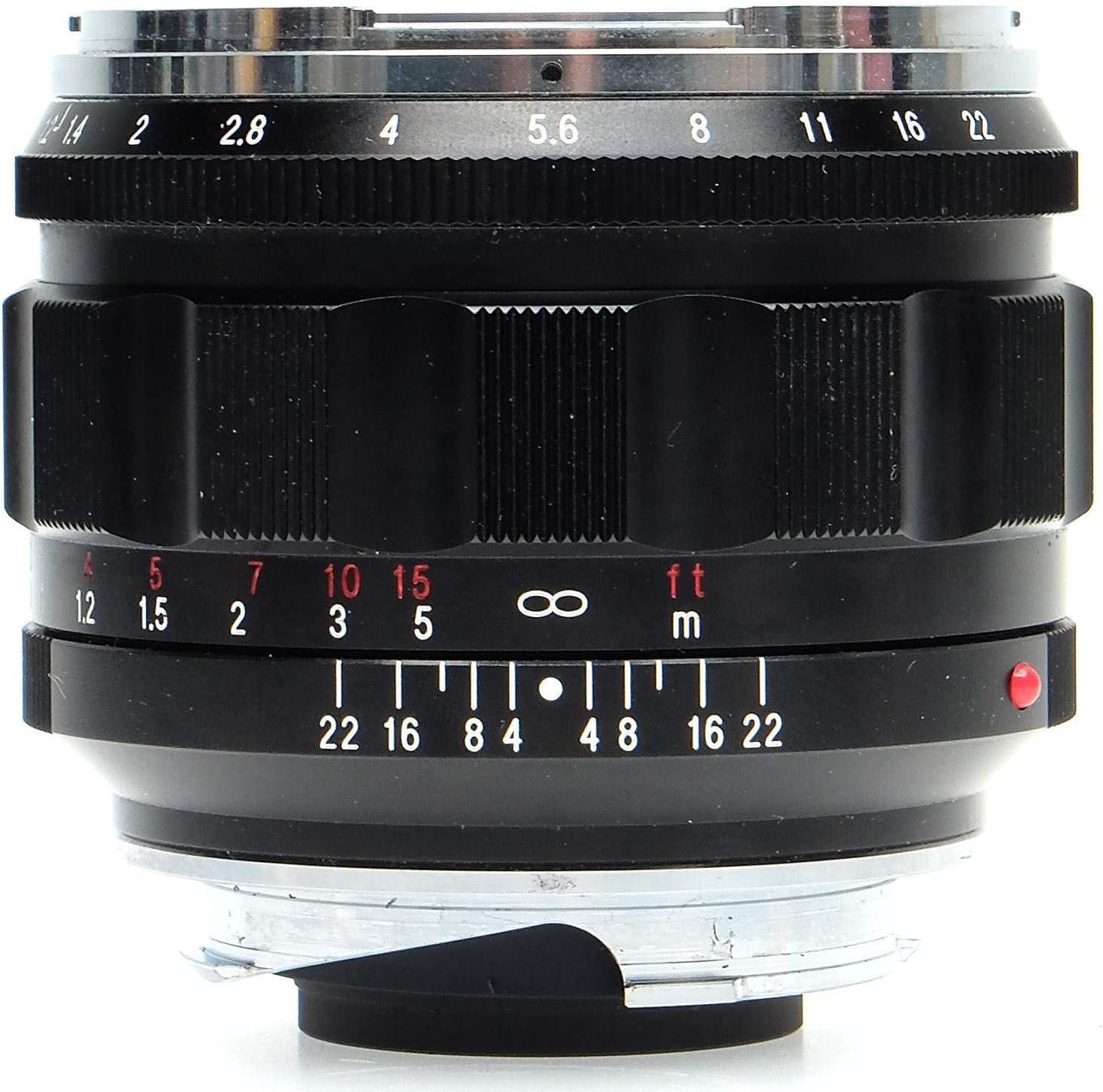 Voigtlander Nokton 50 Mm F 1 2 Asphärische Vm Leica M Kamera