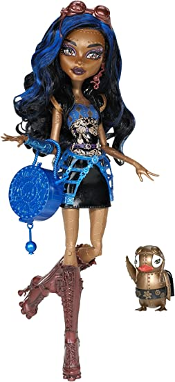 Amazon.es: Monster High - Muñeca Robecca Steam; hija del Doctor Chiflado (Mattel Y6272): Juguetes y juegos