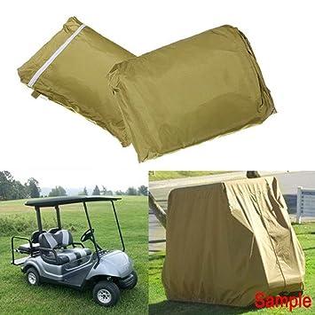 Labellevie Funda impermeable para carrito de golf Se adapta al Club Car: Amazon.es: Deportes y aire libre