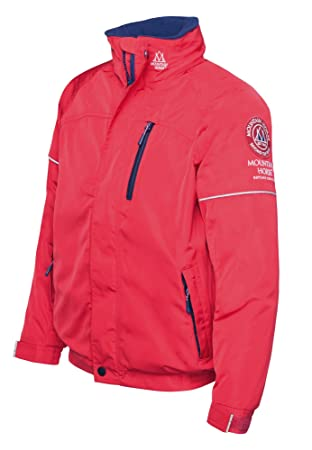 07ccf552 Mountain Horse Junior Childrens Team Jacket - Royal Red: 130cm (6-8 Years
