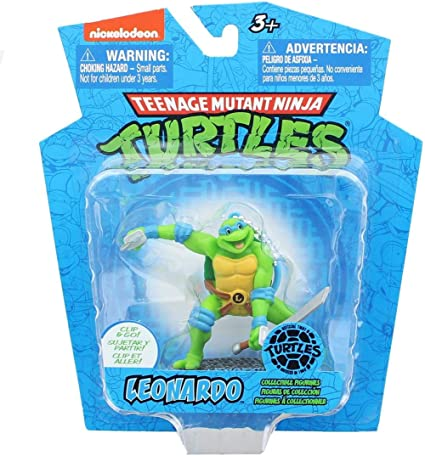 Amazon.com: TEENAGE MUTANT NINJA TURTLES 3in LEONARDO FIGURE ...