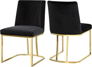 """Meridian Furniture Heidi Collection Black Modern 