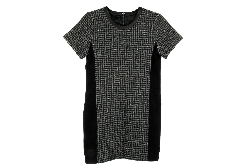 J Crew Tall Drapey Oxdord Crepe Shirt Dress Size M Style C3148 Black New