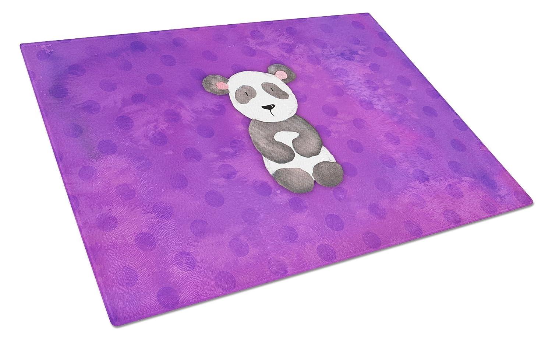 Carolines Treasures BB7375LCB Polkadot Panda Bear Watercolor Chopping Board Large Multicolor
