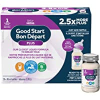 NESTLÉ GOOD START Stage 1 with DHA, Baby Formula, Nurser, 0+ months, 89 ml, 20 Pack