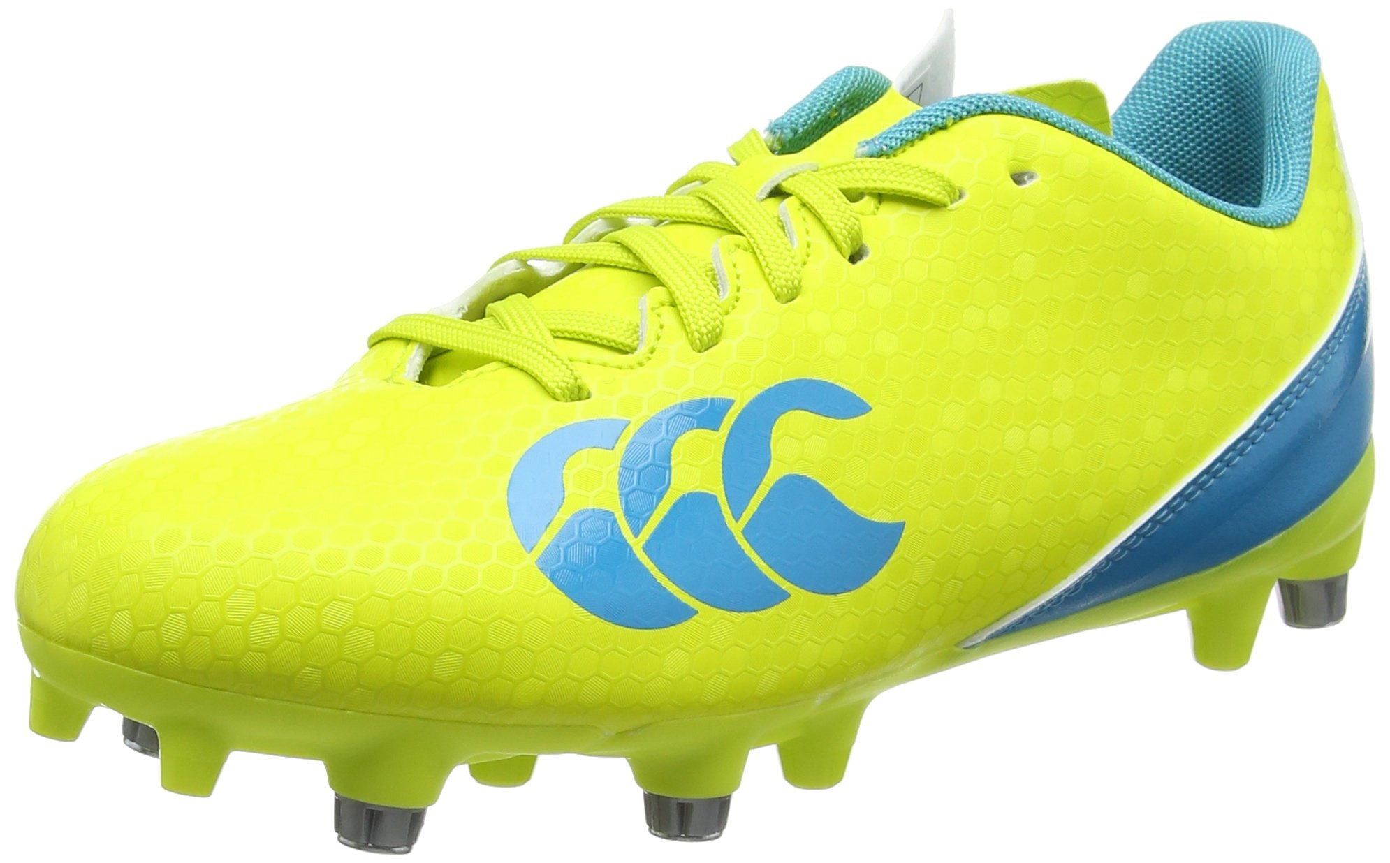 Canterbury Speed 2.0 SG Rugby Boots, Sulphur Spring, US 11 Yellow by Canterbury