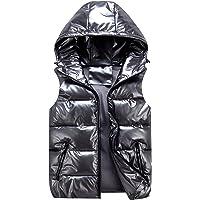 AIEOE chaqueta acolchada sin mangas para niños chaleco con capucha abrigos sin mangas ropa de otoño e invierno para…